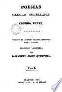 Poesias selectas castellanas, 1