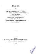 Poesias. Sevilla, Jose Maria Geofrin 1865