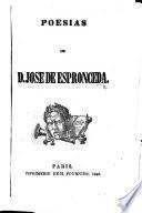 Poesías. [With an introduction by J. García de Villalta.]