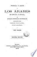 Poesĭa y arte de los árabes en España y Sicilia