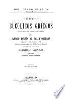 Poetas bucólicos griegos