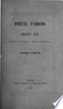 Poetas famosos del siglo XIX, sus vidas y sus obras