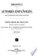 Poetas liricos del siglo XVIII. Coleccion formada e ilustrada por Leopoldo Augusto de Cueto ; tomo 2
