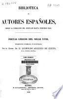 Poetas líricos del siglo XVIII