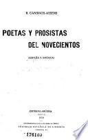 Poetas y prosistas del novecientos