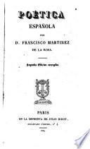 Poética española