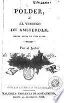 Pólder, ó, El verdugo de Amsterdam