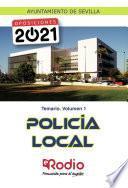 Policía Local. Temario. Volumen 1