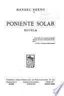 Poniente solar