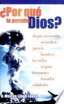 ¿Por qué lo permite Dios?
