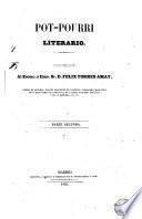 Pot-pourri literario