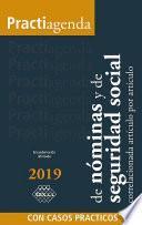 Practiagenda de Nóminas y de Seguridad Social correlacionada artículo por artículo con casos prácticos 2019