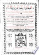 Practica de cvras y confessores y doctrina para penitentes