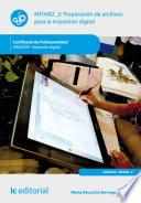 Preparación de archivos para la impresión digital. ARGI0209