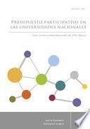 Presupuesto participativo en las universidades nacionales