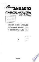Primer anuario comercial e industrial de Cuba