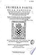 Primera parte de la Carolea Inchiridion