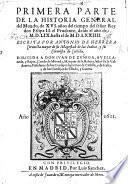 Primera parte de la historia general del Mundo ... desde el año de M.D.LIX. hasta el de M.D.LXXIIII. (Segunda parte, desde el año de M.D.LXXV.).