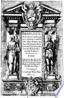 Primera parte de las demonstraciones Catholicas, y principios en q̃ se funda la verdadde nuestra Christiana religion