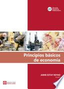 Principios básicos de economía