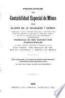 Principios de contabilidad especial de minas