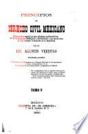 Principios de derecho civil mexicano