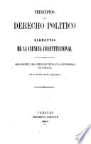Principios de derecho político