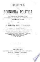 Principios de economia política