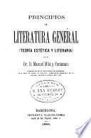 Principios de literatura general