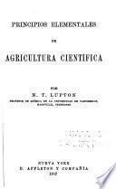 Principios elementales de agricultura cientifica