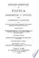 Principios elementales de fisica experimental y aplicada