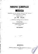 Principios elementales de música