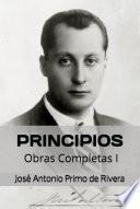 Principios. Obras Completa I