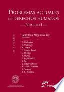 Problemas actuales de derechos humanos. Número I