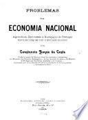 Problemas da economia Nacional