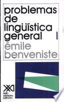 Problemas de lingüística general