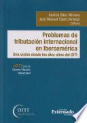 Problemas de tributación internacional en Iberoamérica