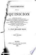 Procedimientos de la Inquisición