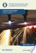 Procesos de corte y preparación de bordes. FMEC0210