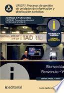 Procesos de gestión de unidades de información y distribución turísticas. HOTI0108