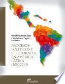 Procesos políticos y electorales en América latina