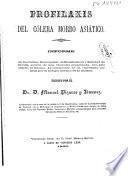 Profilaxis del cólera morbo asiático