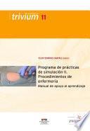 Programa de prácticas de simulación II
