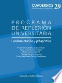 Programa de Reflexión Universitaria