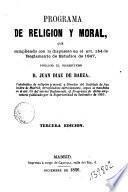 Programa de religión y moral