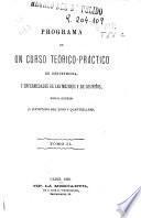 Programa de un curso teórico-práctico de obstetricia y enfermedades de las mujeres y de los niños