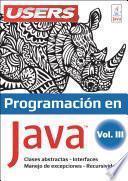Programación en JAVA III