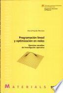 Programación lineal y optimización en redes