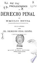 Prolegómenos de derecho penal