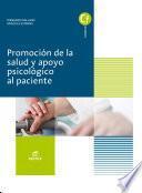 Promoción de la salud y apoyo psicológico al paciente. Novedad 2017